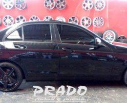 Prado Rodas e Pneus – Mercedes Roda Preta Prado Rodas