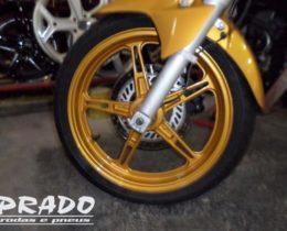 Prado Rodas e Pneus – Pintura roda de moto Prado rodas