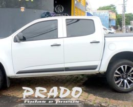 Prado Rodas e Pneus – s10 branca com rodas aro 20 prado rodas