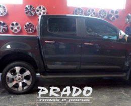 Prado Rodas e Pneus – s10 com rodas aro 20 Prado Rodas