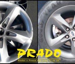 Prado rodas roda grafite focus5
